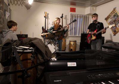 Musik Ungdomsklub - Sct. Georgsgården Børne - og Ungdomscenter Skanderborg - 08