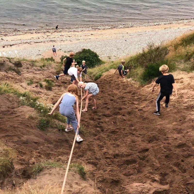 Sct. Georgsgårdens sfo sommerlejr traditioner