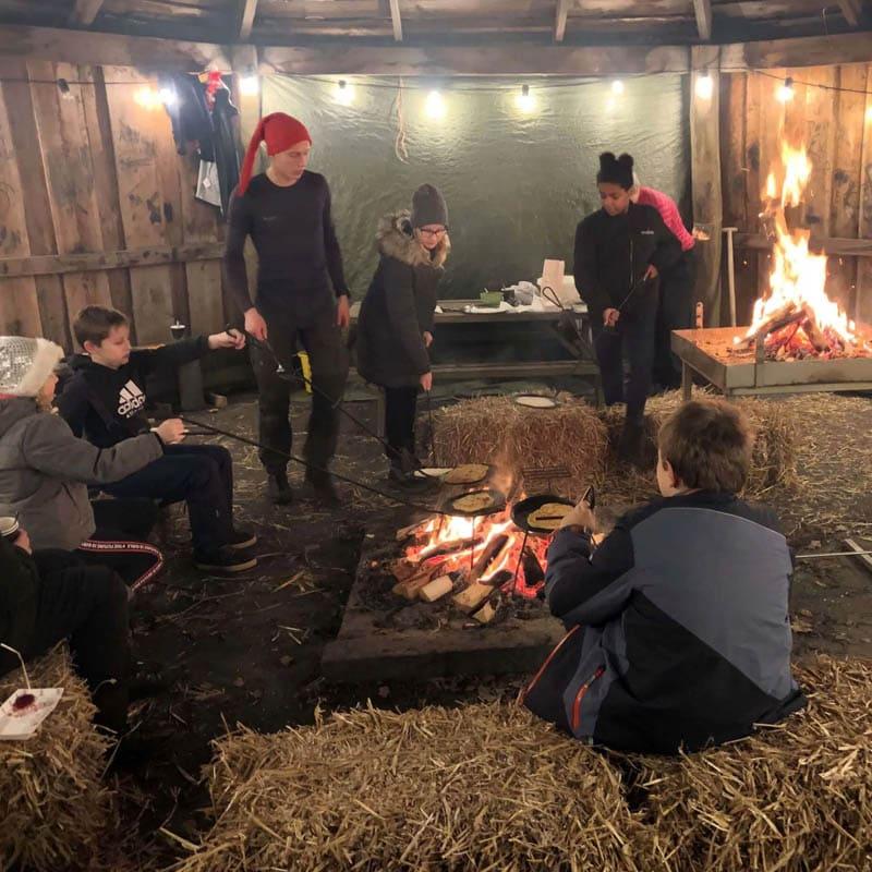 Sct. Georgsgårdens vinterfest traditioner
